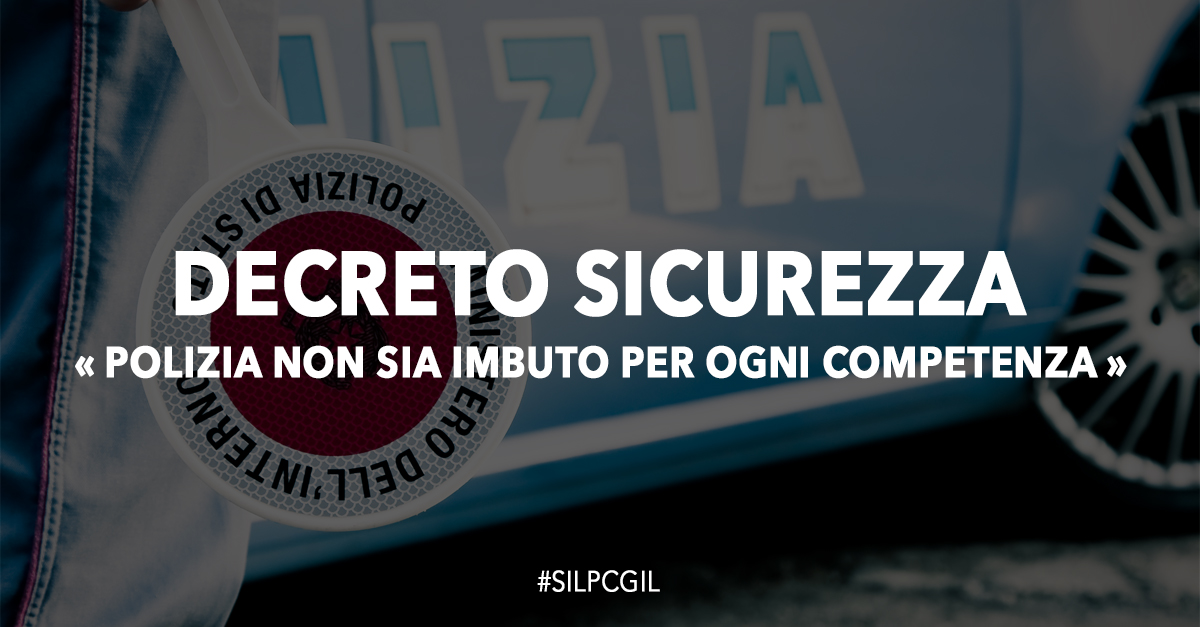 decreto sicurezza - photo #2