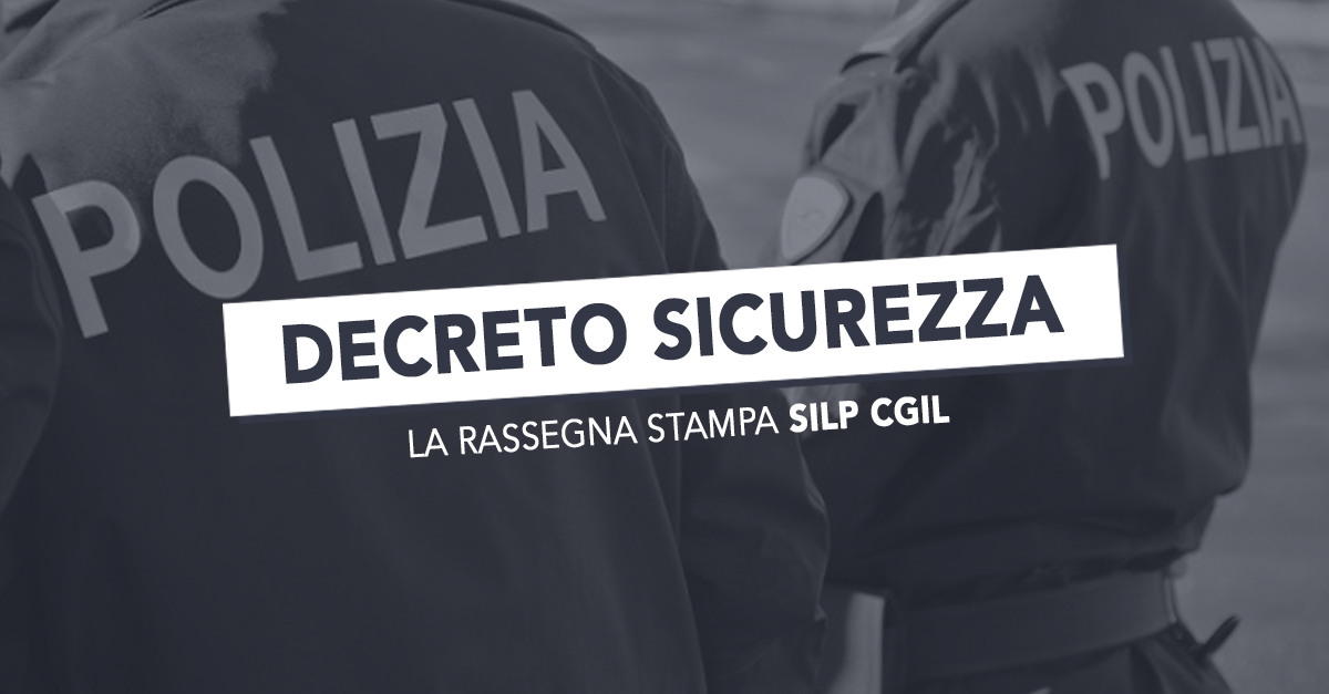decreto sicurezza - photo #6